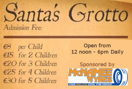 santa's Grotto Price List