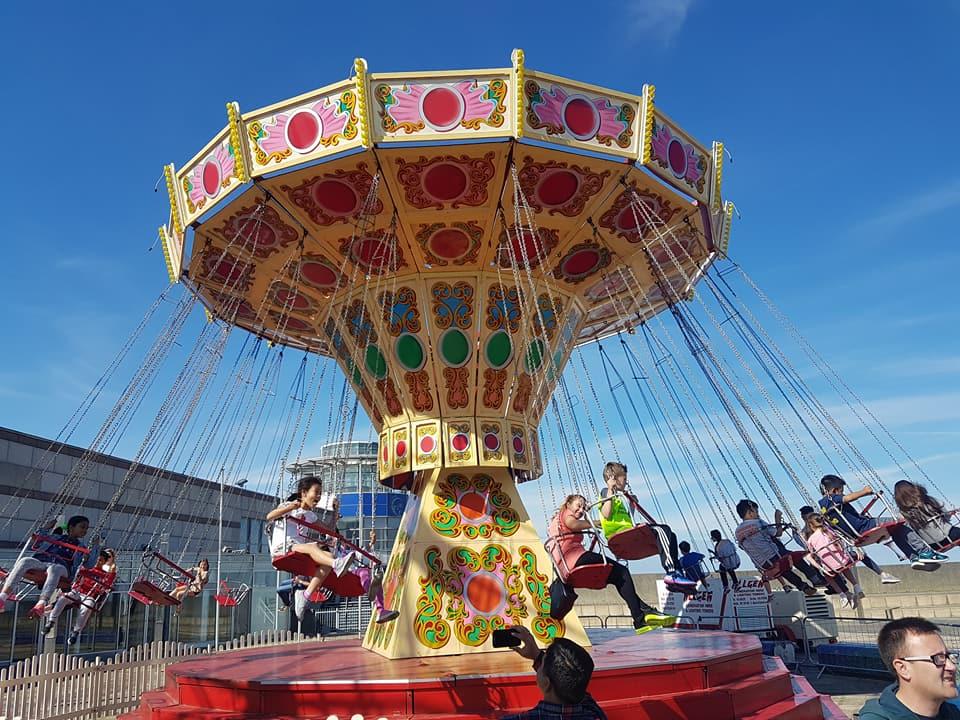 vintage children's carousel