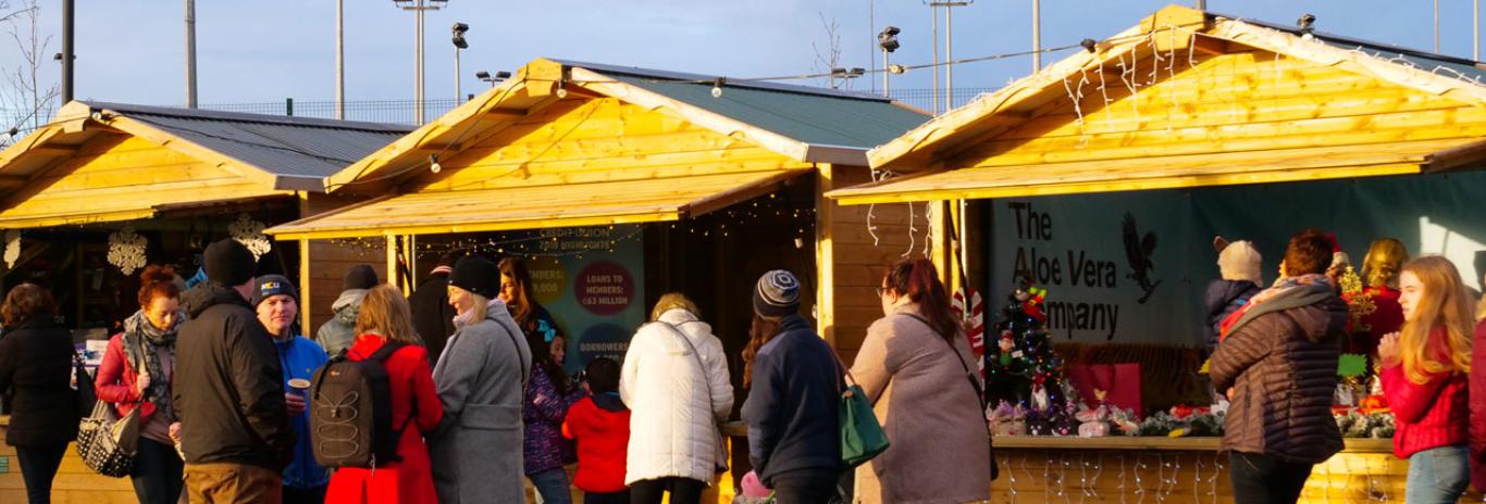 market-huts